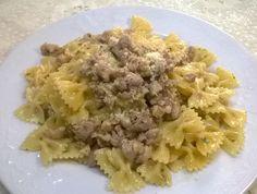 Ricetta Pasta veloce con salsiccia
