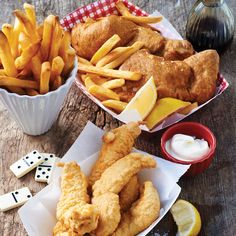 Malt Vinegar Fish and Chips Recipe - Food and Recipes - Mother Earth Living