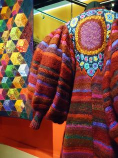 Kaffe Fassett exhibition - Juxtaposition of Color an Design...