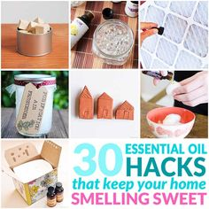 Keep your home smelling fresh as a daisy with these 30 easy DIY air fresheners. Try one (or a few) of these hacks to naturally scent your home today. Essential Oils Room Spray, Essential Oil Scents, Essential Oil Uses, Doterra Essential Oils, Room Freshener, Air Freshener, Pure Oils, Natural Cleaning Products, Natural Products