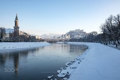 Winter in Salzburg, Austria Places Ive Been, Places To Go, Salzburg Austria, Winter Photography, Winter Day, Order Prints, My Images, Beautiful Places, Online Shipping