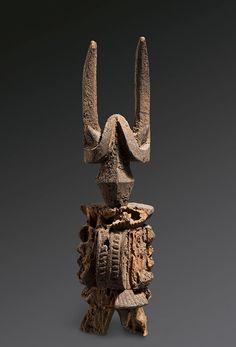 Igbo Ikenga Alusi ('Spirit' Right Hand Altar Figure), Nigeria http://www.imodara.com/item/nigeria-igbo-ikenga-right-hand-altar-figure-ikenga-alusi-spirit/