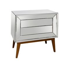 Dean Mirrored Side Table | Tonic Home $1497.50 ea