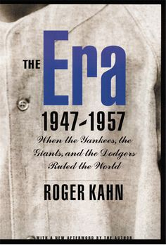 Celebrated sports writer Roger Kahn casts his gaze on the golden age of baseball, an unforgettable time when the game thrived as Americas unrivaled national sport. The Era begins in 1947 with Jackie Robinson changing major league baseball forever by taking the field for the Dodgers.