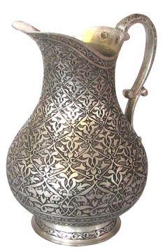 Osmanlı El Sanatları, Bakır İşlemeli Saray Sürahi