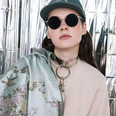 ↘ One picture from REFLEXION photoshoot for Footshop ↙  .  .  .  .    #photographer ➡ @katarinabell #styling ➡ @nemamconaseba #necklace ➡ #manaberec   #fauxcollection #stuccolustro #fashion #jewellery #jewelry #design #model ➡ @clique_models #editorial #urbanfashion #prague Fashion Jewellery, Prague, Design Model, Urban Fashion, One Pic, Round Sunglasses, Editorial, Jewelry Design, Photoshoot