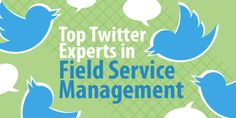 These field service twitter accounts can keep your business on the cutting edge of the industry. Get tips, insights, and reviews all in your Twitter feed.