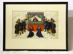 Allpress Antiques Furniture Melbourne Victoria Australia: An unusual set of six late Century Chinese school water colours on rice paper Melbourne Victoria, Victoria Australia, Memory Problems, Rice Paper, 19th Century, The Past, Chinese, Colours, Watercolor