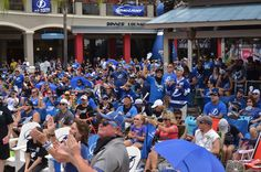 Sea of fans! Stanley Cup Finals, Tampa Bay, Lightning, Hockey, Fans, Sea, Blue, Field Hockey, Lightning Storms