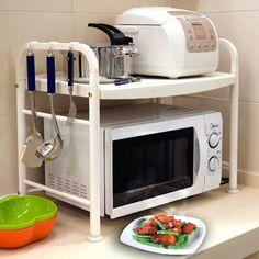estante cozinha microondas - Pesquisa Google