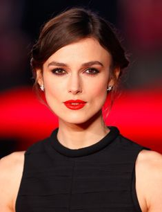 Maybelline are launching a red lipstick that's meant to suit everyone- HarpersBAZAARUK Keira Knightley