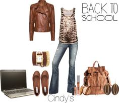 """Back To School"" by cindycook10 on Polyvore"