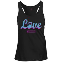 """""""Love (With Kettlebell)"""" Women's Tees & Tanks"""