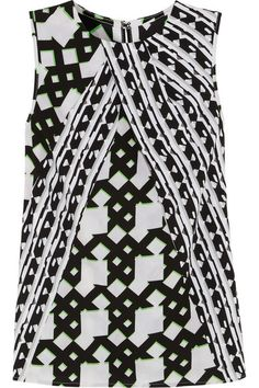 Bold & chic, perfect for black or white skinnies. Peter Pilotto for Target
