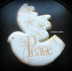 New Years Dove   Cookie Connection