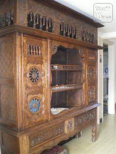 Lit Clos Breton Transforme Datant De 1812 Lit Clos Mobilier De Salon Lit