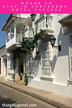 A review of Hotel Kartaxa, a Cartagena hotel with lots of personality.