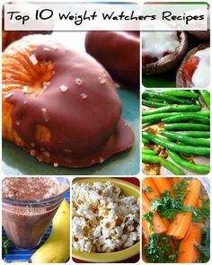 So Easy, Delicious, and Healthy. Top 10 Weight Watchers Recipes.