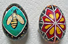 Ukrainian Easter egg decorating