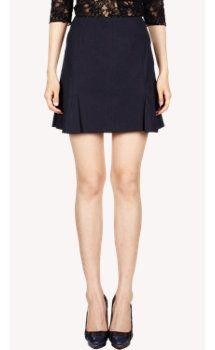 Nina Ricci Poplin Mini Skirt