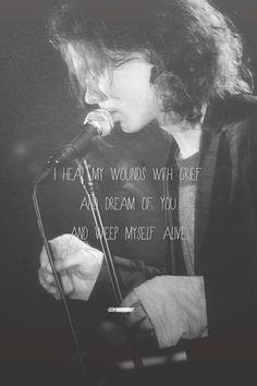 Ville Valo with lyrics. ♥♥♥. #ville valo #HIM