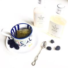 Tea for two & two for tea ☕️ Hoping this cup of tea gives me the kind of pick-me-up that @thedrybar's Texas Tea duo gave my hair this misty Monday morning. #hellomonday #pumpupthevolume #thedrybar #lifeisntperfectbutyourhaircanbe #laviedethree #anthropologie #dcblogger
