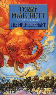 The Fifth Elephant (1999)  (Book 24 in the Discworld series)  A novel by Terry Pratchett