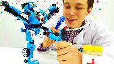 Игры для детей. Видео Машинки и Роботы Трансфомеры. #Тобот у Доктора Ой!...