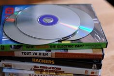 fix dvd scratches with a banana