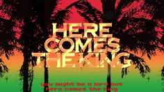 "Snoop Lion ""Here Comes the King"" (Official Lyric Video) (+playlist)"