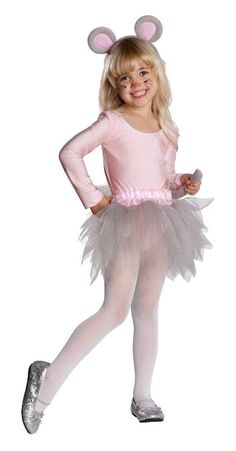 Amazon.com: Rubies Toddler Girls Ballerina Mouse Halloween Costume Tutu: Clothing