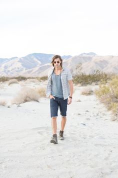 Sarah Kehoe Candy Shop : Denim Daze | Male model on the beach | Men's Fashion | Mountains | Travel