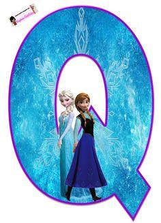 Frozen: Free Elsa and Ana Alphabet. Frozen: Bello Alfabeto Gratis de Elsa y Ana. Frozen Birthday Party, Sofia The First Birthday Party, Frozen Theme Party, Baby Party, Birthday Party Themes, Diy Crafts For 5 Year Olds, Freeze, Frozen Free, Frozen 1