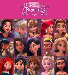 All 15 Disney Princesses according to Wreck-It Ralph 2