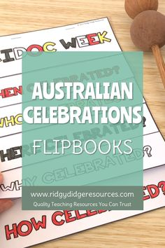 Teaching to the Australian curriculum does not need to be stressful! With our ready to print flipbooks featuring 7 Australian celebrations, you will be fulfilling the requirements of the Year 3 HASS curriculum as well as engaging your students in a fun and meaningful activity that is sure to keep them engaged. Paragraph Writing, Persuasive Writing, Writing Rubrics, Opinion Writing, Naidoc Week Activities, National Sorry Day, History Education, Physical Education, Harmony Day