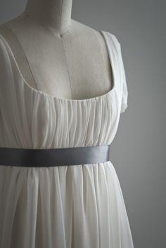very jane austen... future wedding dress, perhaps?