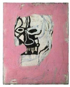 hypereal: JEAN-MICHEL BASQUAIT Untitled ( Skull) 1983-1984. Paper, plesiglas, oil crayons, acrylic, see v. 50 x 39. Estimeyt: 50-70 thousand pounds of Lot number 161. Christie's. 12.02.09 Prognoz AI: 110 thousand pounds