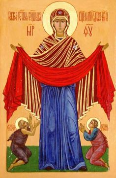 Orthodox Christians of the Eastern Rite celebrate Intercession of the Mother of God on October 14
