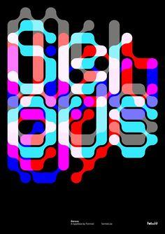 Serous, a modular interlocking display typeface http://www.peopleofprint.com/graphic-design/serous-an-interlocking-display-typeface-by-formist/… #typography