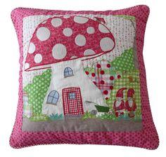 room seven mushroom house cushion
