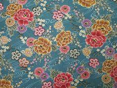 Wind Kimono Embossed Crepe Japanese Fabric by carol-san*, via Flickr