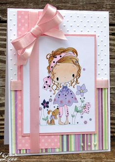 Wendy Burns (etsy shop) image Creative Crafts by Lynn Handmade Birthday Cards, Greeting Cards Handmade, Card Making Inspiration, Making Ideas, Tiddly Inks, Opening An Etsy Shop, Copics, Creative Crafts, Cute Designs