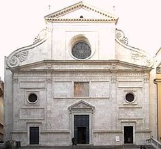 Sant agostino The church contains the tomb of Saint Monica, mother of Saint Augustine, that of Fiammetta, lover of Cesare Borgia and a famous courtesan, and that of Olav Trondsson, archbishop of Norway 1459 - 1473