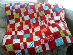 Cara Quilts: Fat Quarter Shop's Charm Pack Cherry in Mixed Bag!