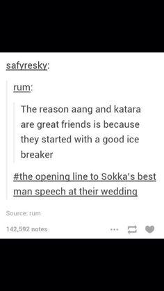 Sokka, Katara, Aang, Avatar: the Last Airbender. Avatar Aang, Avatar The Last Airbender, Zuko, Dislike, The Familiar Of Zero, Fun Icebreakers, Sneak Attack, Best Man Speech, Def Not