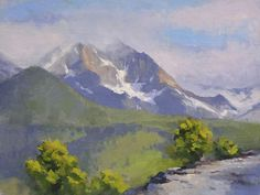 Morning Glory by Larry DeGraff Oil ~ 9 x 12