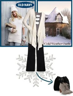 """""""Style That Sweater with Old Navy"""" by designsbytraci on Polyvore"""