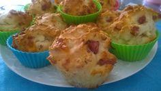 Muffin salsiccia e formaggio