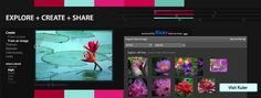 "This site is called ""Kuler"" by Adobe. IT IS AWESOME! It's a color pallette generator - great for wedding planning, color schemes, etc. Login to save schemes or just experiement!"