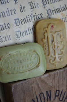 Sur 1 air de brocante Gorgeous soap